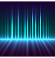 Abstract aurora borealis lights background vector image