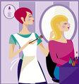 Beauty salon 2 vector image