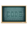 board code vector image vector image