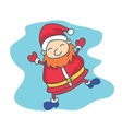 Collection Santa Claus Christmas theme vector image vector image