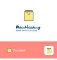 creative database logo design flat color logo vector image
