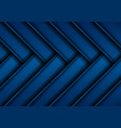 dark blue glossy stripes abstract tech geometric vector image vector image