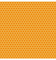 honeycomb honey seamless pattern cells mosaic vector image