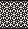 monochrome minimalistic seamless pattern vector image vector image
