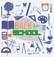 Back to School 1 vector image