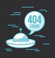 404 error background vector image vector image