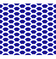 ceramic chinese blue pattern vector image vector image