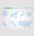 group seven g7 germany canada united kingdom vector image vector image