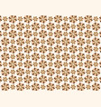 modern line pattern chocolate colors vector image