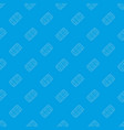 pills pattern seamless blue vector image vector image