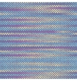 Seamless Knitted Melange Pattern vector image