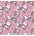 seamless pattern vintage decorative violet vector image