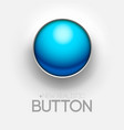technical blue button push background vector image