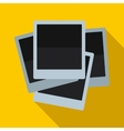 Photos icon in flat style vector image
