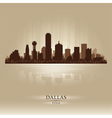 Dallas Texas skyline city silhouette