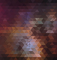 Geometric triangle abstract background vector image