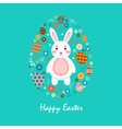 Happy easter 2 vector image vector image