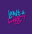 like label sign logo hand drawn brush lettering vector image vector image