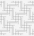line seamless geometric pattern background vector image