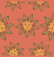 oriental pattern islam arabic turkish moroccan vector image