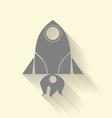 Rocket icon vector image vector image