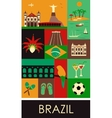 Symbols of Brazil vector image