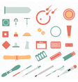All modern types and contraception methods vector image