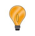 bulb light business idea creative power vector image vector image