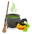 cauldron vector image