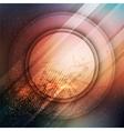 Circular futuristic background vector image vector image