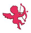 cupid love valentine vector image vector image