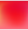 Halftone red background vector image vector image