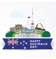 Happy Australia day 26 january Greatest vector image