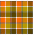 Orange clay marsh check plaid seamless pattern vector image vector image