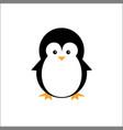 penguin cute icon logo animals vector image