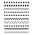 simple texture elements vector image