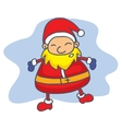 Style Santa Claus Collection Christmas vector image vector image