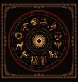 a bundle zodiac signs vector image