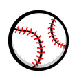 Baseball cartoon design vector image vector image