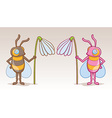 Bee Character vector image vector image