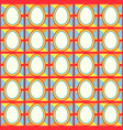 easter pattern fabric vector image vector image