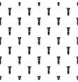 flashlight icon simple black style vector image vector image
