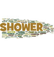 london builders sheer appeal of your shower part vector image vector image