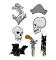 pirates bounty vector image