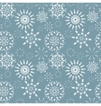 Seamless christmas pattern Winter theme texture vector image vector image