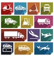Transport flat icon-05 vector image vector image