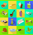 design accessories and harm icon set of vector image