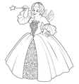 Fairy Godmother Making a Wish vector image vector image