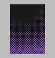 halftone dot pattern brochure background design vector image vector image