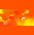 liquid gradient shapes composition vector image